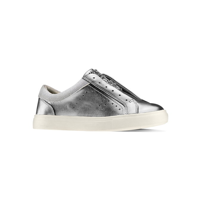 Childrens shoes mini-b, Silber, 321-2357 - 13