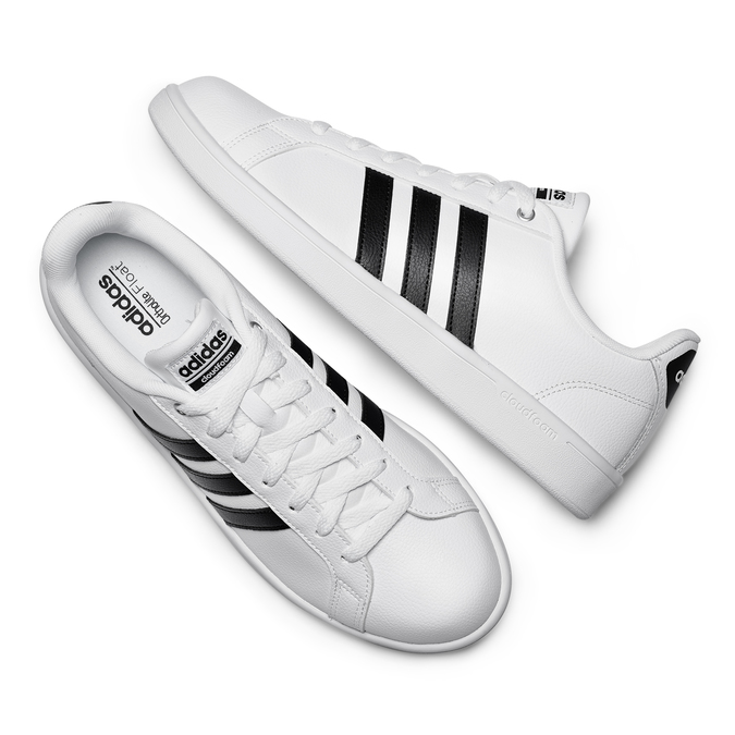 Men's shoes adidas, Blanc, 801-1378 - 26