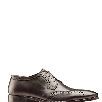 Men's shoes bata-the-shoemaker, Brun, 824-4335 - 13