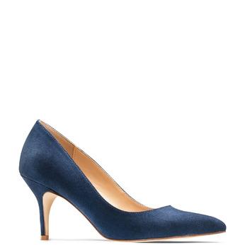 Women's shoes insolia, Bleu, 729-9199 - 13