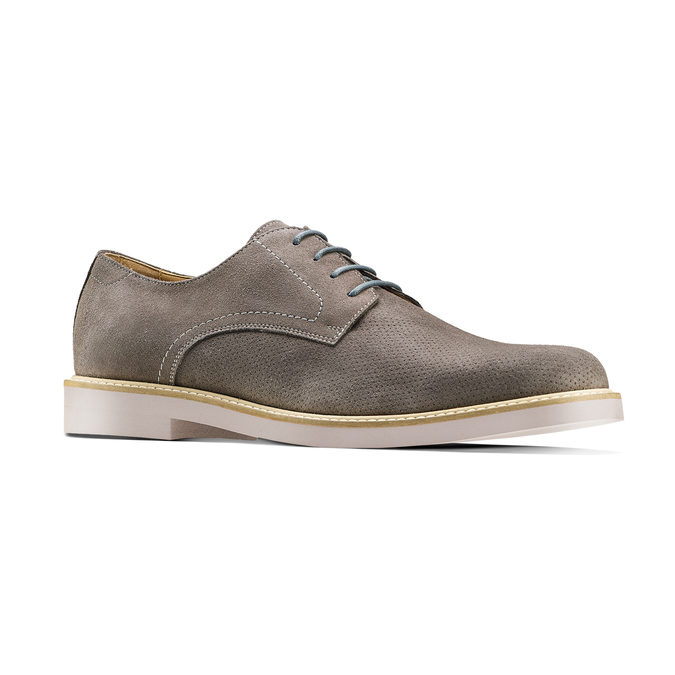 Men's shoes bata-light, Gris, 823-2284 - 13