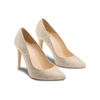 Women's shoes insolia, Jaune, 723-8257 - 16