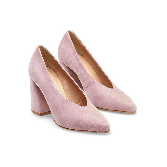 Women's shoes bata, Rouge, 723-5239 - 16