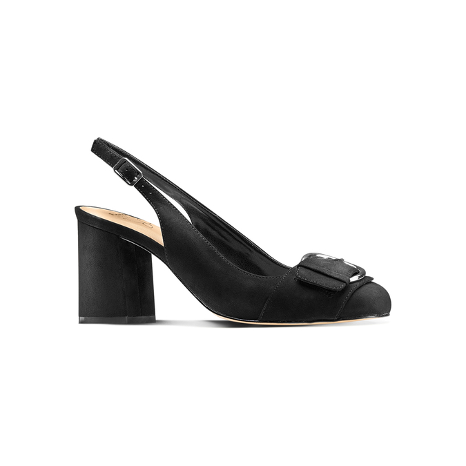 Women's shoes insolia, Noir, 729-6178 - 13