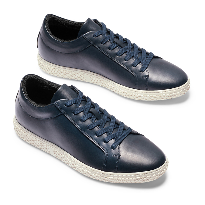 Men's shoes bata, Violet, 844-9137 - 26