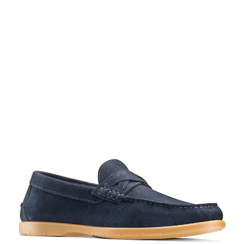 Men's shoes bata, Bleu, 853-9143 - 13