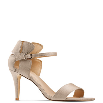 Women's shoes insolia, Rouge, 769-5176 - 13