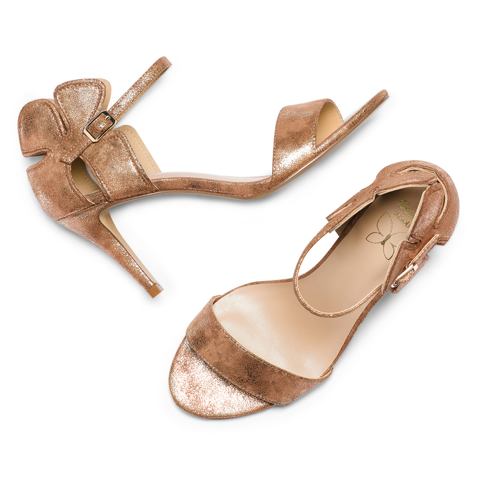 Women's shoes insolia, Brun, 769-4176 - 26