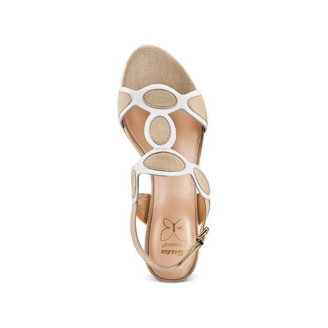 Women's shoes insolia, Jaune, 669-8297 - 17