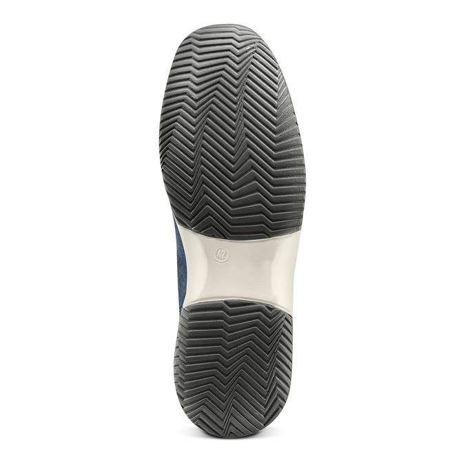 Men's shoes bata, Violet, 849-9162 - 19