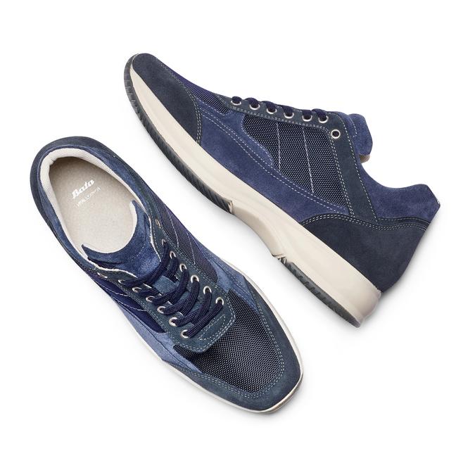 Men's shoes bata, Violet, 849-9162 - 26