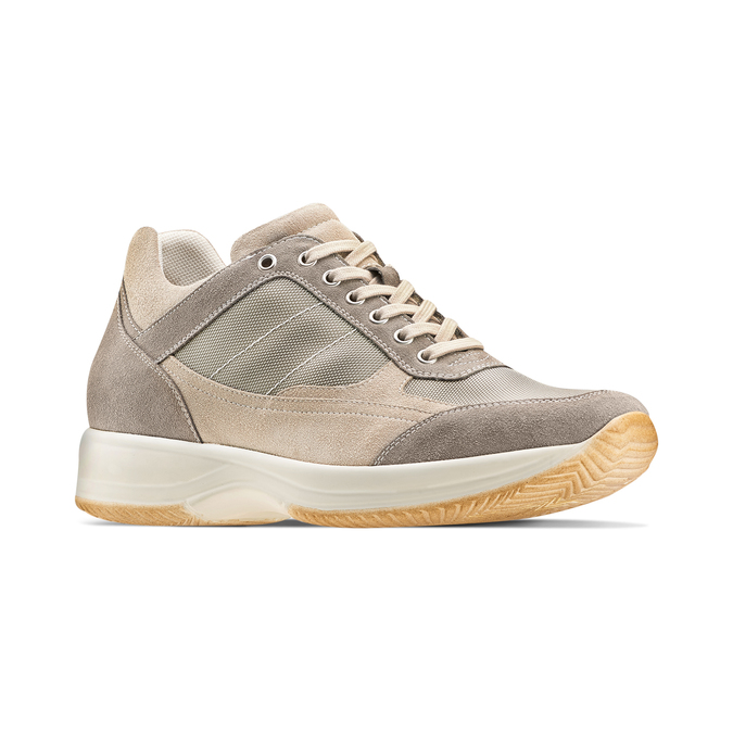 Men's shoes bata, Beige, 849-8162 - 13