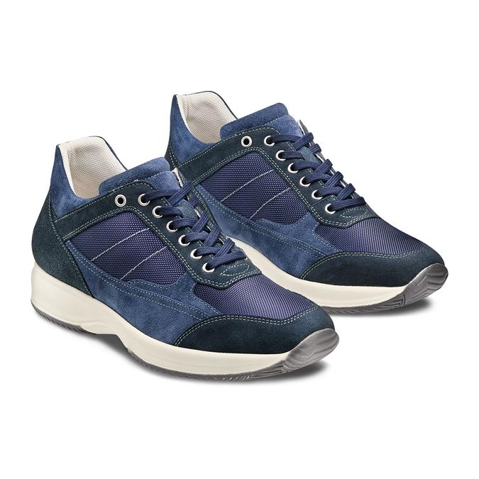 Men's shoes bata, Violet, 849-9162 - 16