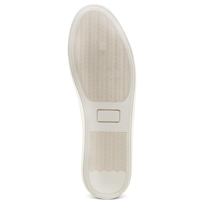 Men's shoes, Blanc, 841-1374 - 19