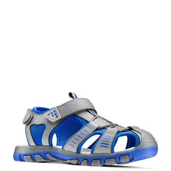 Childrens shoes mini-b, Gris, 261-2181 - 13