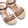 Childrens shoes mini-b, Rouge, 361-5171 - 26