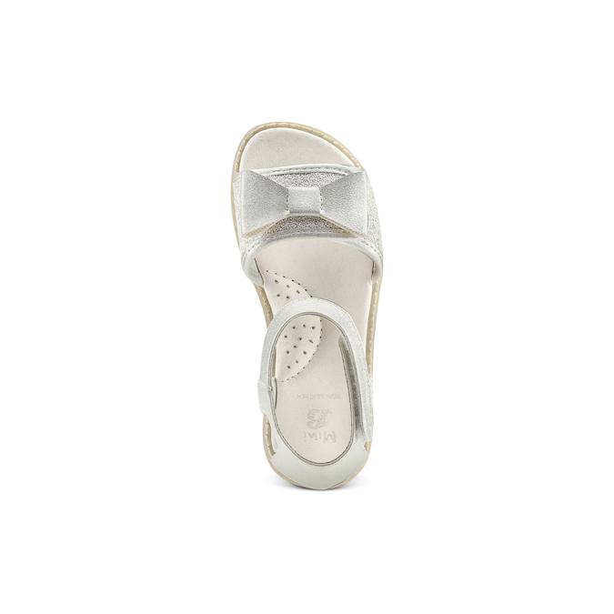 Childrens shoes mini-b, Blanc, 261-1117 - 17