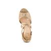 Women's shoes insolia, Jaune, 769-8263 - 17