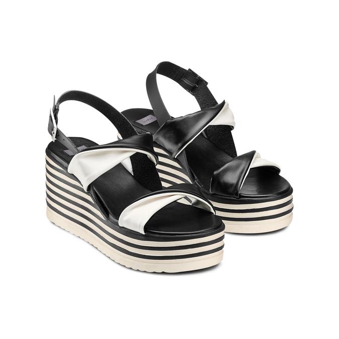 Women's shoes bata, Noir, 661-6282 - 16