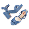 Women's shoes bata-rl, Bleu, 769-9328 - 26