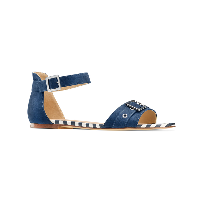Women's shoes insolia, Bleu, 569-9277 - 13