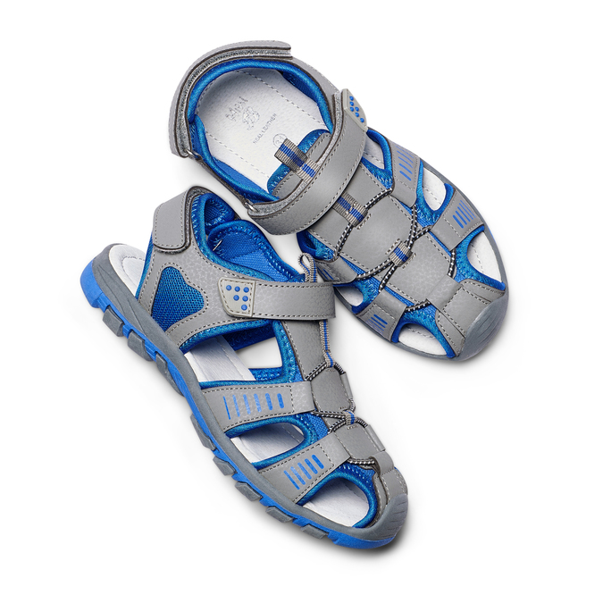 Childrens shoes mini-b, Gris, 261-2181 - 26