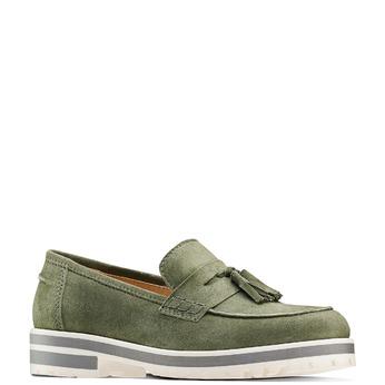 Women's shoes bata, Vert, 513-7182 - 13