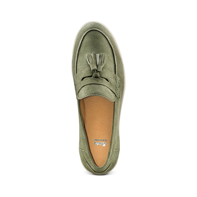 Women's shoes bata, Vert, 513-7182 - 17