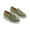 Women's shoes bata, Vert, 513-7182 - 16