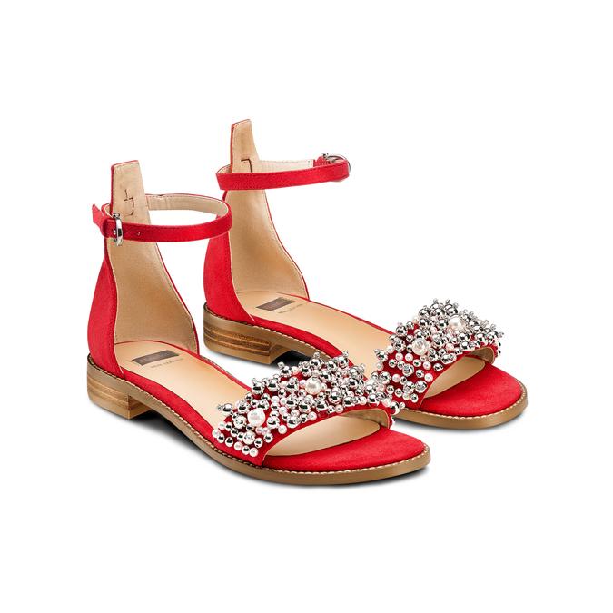 Women's shoes bata, Rouge, 569-5208 - 16