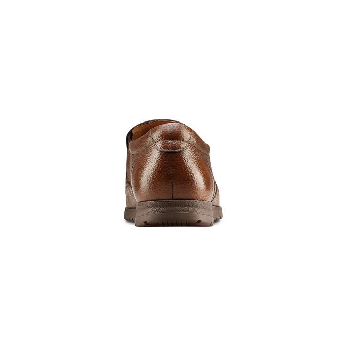 Men's shoes, Brun, 854-4118 - 15