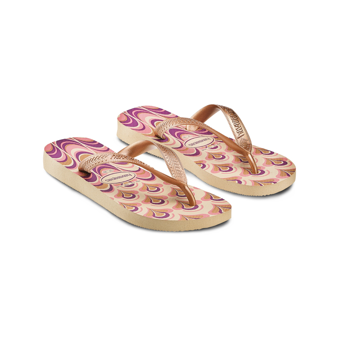 Women's shoes havaianas, Gris, 572-2455 - 16