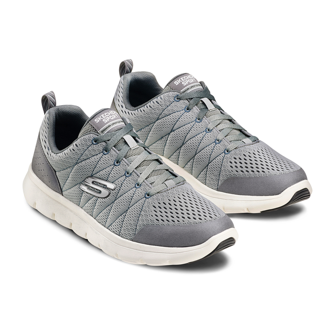Men's shoes skechers, Gris, 809-2806 - 16
