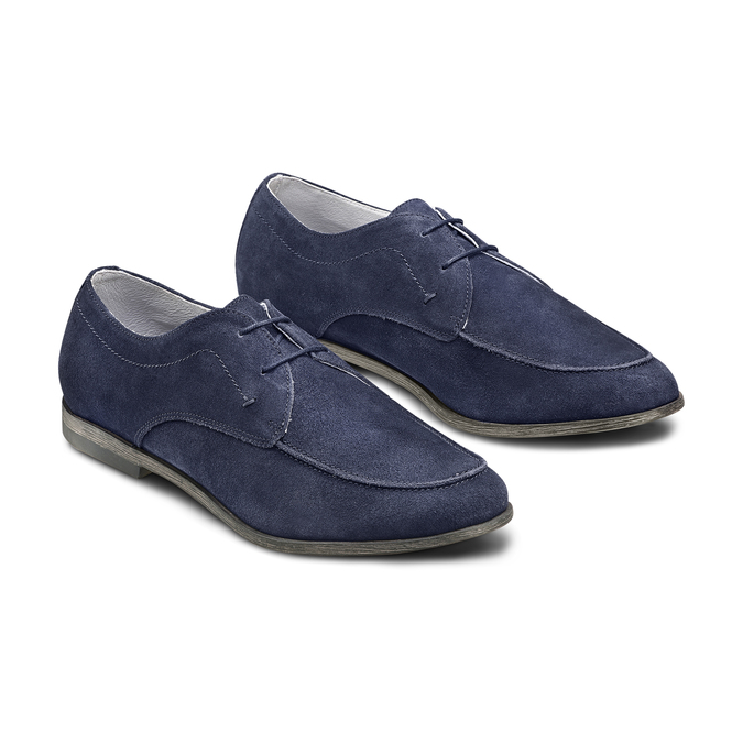 Men's shoes bata, Bleu, 853-9160 - 16