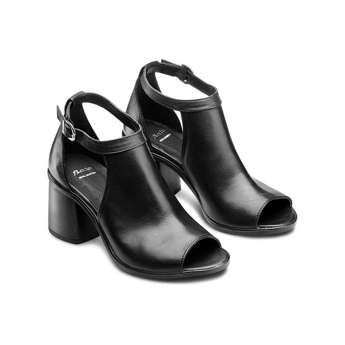 BATA Chaussures Femme bata, Noir, 724-6297 - 16