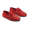 Mocassin en cuir bata, Rouge, 853-5180 - 16
