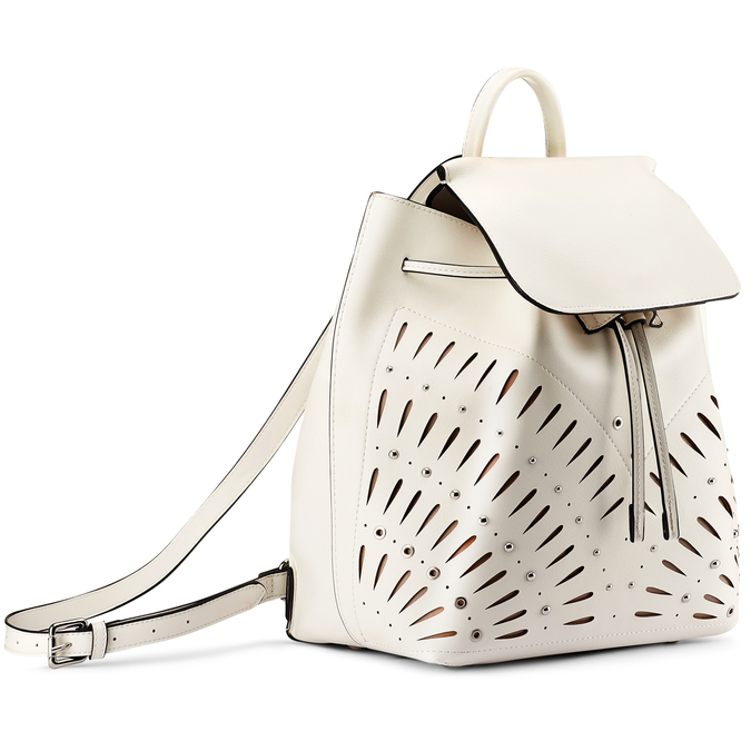 Backpack bata, Blanc, 961-1223 - 13
