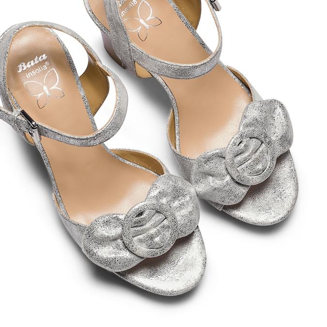 Women's shoes insolia, Blanc, 769-1175 - 26