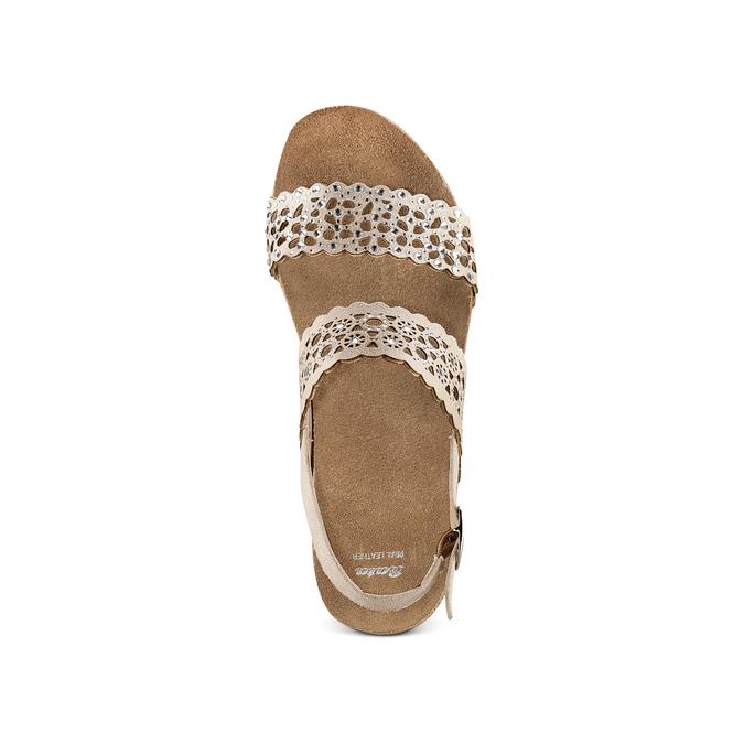 BATA Chaussures Femme bata, Jaune, 669-8356 - 17