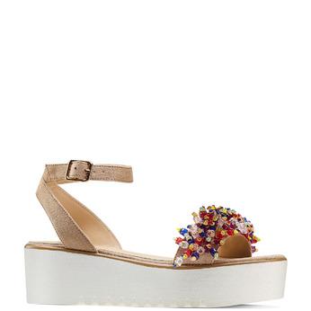 Women's shoes bata, Jaune, 669-8283 - 13