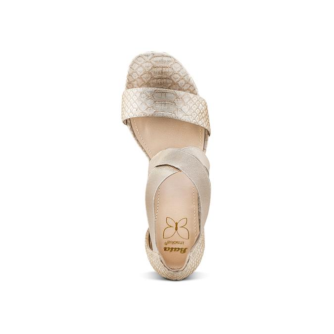 Women's shoes insolia, Jaune, 761-8142 - 17