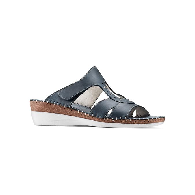 Men's shoes bata, Violet, 666-9128 - 13