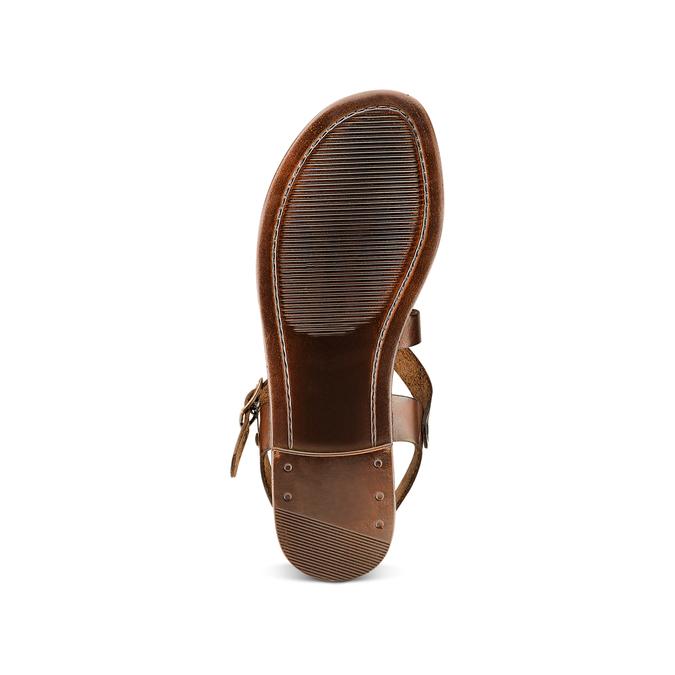 Women's shoes bata, Brun, 564-4179 - 19