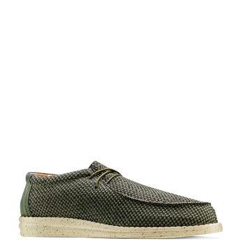 Men's shoes bata, Vert, 859-7199 - 13