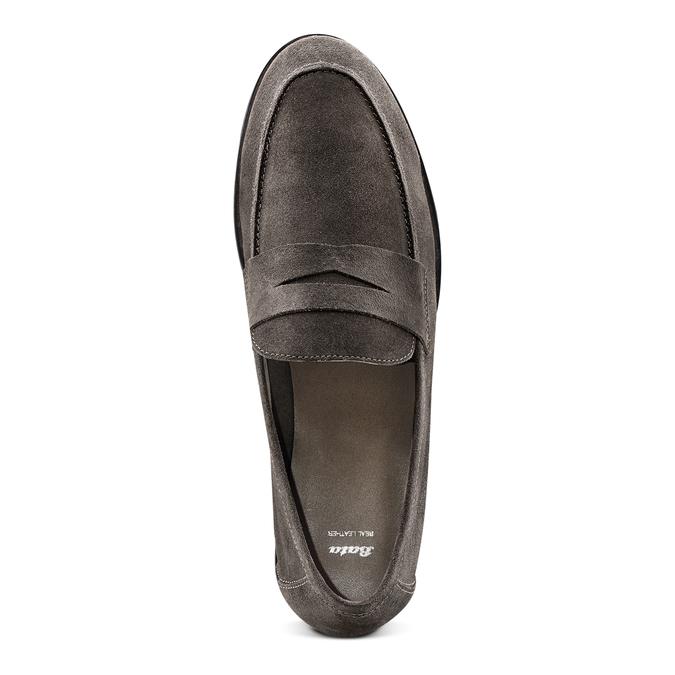 Men's shoes bata, Brun, 853-2129 - 17
