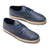 Men's shoes bata, Bleu, 851-9211 - 26