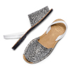 MENORQUINA Chaussures Femme, Gris, 564-2287 - 26