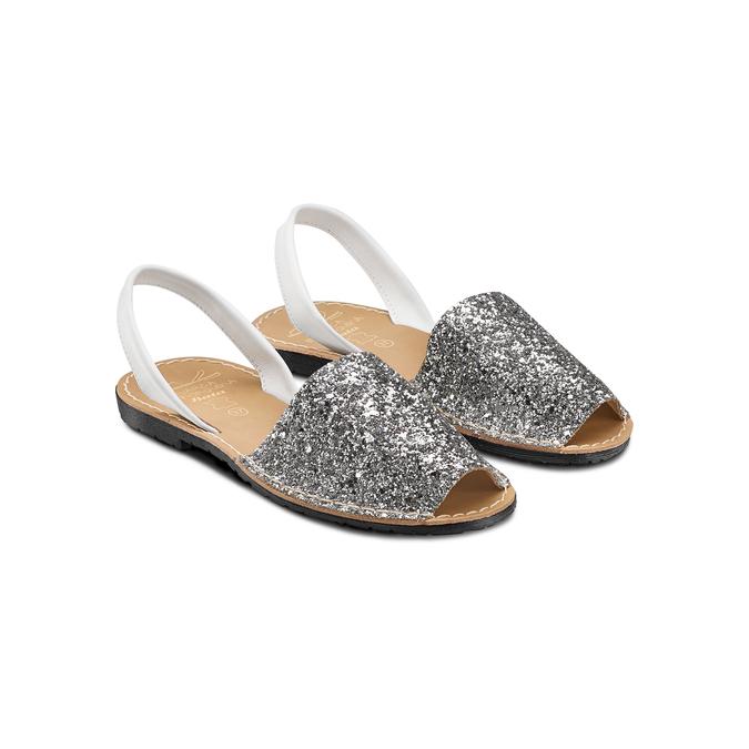 MENORQUINA Chaussures Femme, Gris, 564-2287 - 16