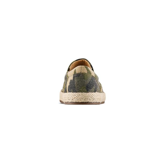 Espadrillas bata, Vert, 859-7203 - 15