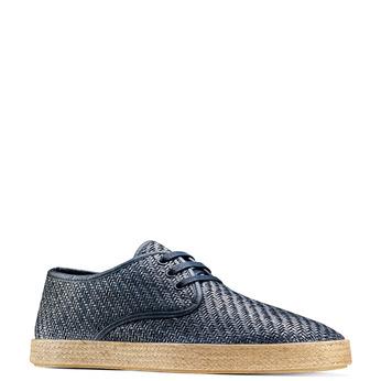 Men's shoes bata, Violet, 851-9211 - 13